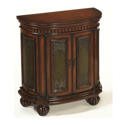 Bestsellers - Hidden Treasures Demilune Chest T73469-00 by Hammary Furniture