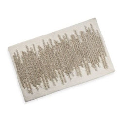 "Kenneth Cole Reaction Home - Kenneth Cole Reaction Home Frost Bath Rug - The Frost Collection combines timeless style with luxurious comfort. This bath rug complements any décor with finesse while its soft cotton construction provides long lasting use. Measures 21"" x 34""."