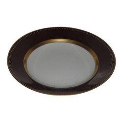 Marc Blackwell - Marc Blackwell Carolina Chocolat Rim Soup Bowl - Marc Blackwell Carolina Chocolat Rim Soup Bowl