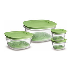 Rubbermaid 7J93 Produce Saver Square Food Storage Containers - Fresh produce is the hardest to store. These containers are great for that.