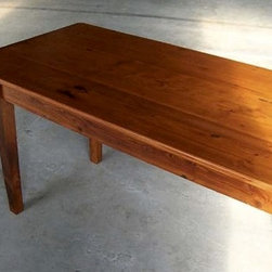 Classic Farmhouse Tables From Barn Boards - Made by www.ecustomfinishes.com