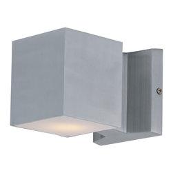 Maxim Lighting - Maxim Lighting 86107AL Lightray LED Aluminum Outdoor Wall Sconce - Maxim Lighting 86107AL Lightray LED Aluminum Outdoor Wall Sconce