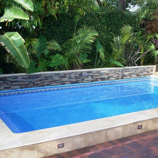 Modern Hot Tub And Pool Supplies by Secard Pools