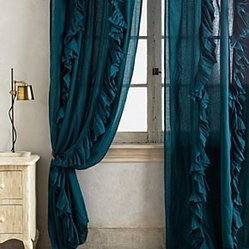 Anthropologie Wandering Pleats Curtain Sold Individually