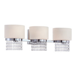 Designers Fountain - Designers Fountain 83903-CH 3-Light Bath Bar - Designers Fountain 83903-CH 3-Light Bath Bar