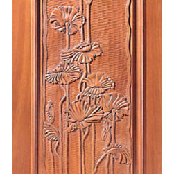 "Hand Carved Panel Single Door in Mahogany - SKU#    Carved-6_1Brand    AAWDoor Type    ExteriorManufacturer Collection    Carved & MansionDoor Model    Door Material    WoodWoodgrain    MahoganyVeneer    Price    1380Door Size Options    30"" x Height"" (2'-6"" x 6'-8"")  $032"" x Height"" (2'-8"" x 6'-8"")  $036"" x Height"" (3'-0"" x 6'-8"")  +$1042"" x Height"" (3'-6"" x 6'-8"")  +$17036"" x Height"" (3'-0"" x 7'-0"")  +$11030"" x Height"" (2'-6"" x 8'-0"")  +$36032"" x Height"" (2'-8"" x 8'-0"")  +$36036"" x Height"" (3'-0"" x 8'-0"")  +$38042"" x Height"" (3'-6"" x 8'-0"")  +$380Core Type    SolidDoor Style    Door Lite Style    Door Panel Style    1 Panel , Hand Carved Panel , Raised Moulding , Raised PanelHome Style Matching    Mediterranean , Victorian , Old World , Elizabethan , Pueblo , SuburbanDoor Construction    True Stile and RailPrehanging Options    Prehung , SlabPrehung Configuration    Single DoorDoor Thickness (Inches)    1.75Glass Thickness (Inches)    Glass Type    Glass Caming    Glass Features    Glass Style    Glass Texture    Glass Obscurity    Door Features    Door Approvals    Door Finishes    Door Accessories    Weight (lbs)    340Crating Size    25"" (w)x 108"" (l)x 52"" (h)Lead Time    Slab Doors: 7 daysPrehung:14 daysPrefinished, PreHung:21 daysWarranty    1 Year Limited Manufacturer WarrantyHere you can download warranty PDF document."