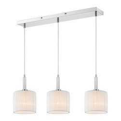 Iberlamp - Iberlamp C177-L3-WH Solal 3 Light Pendant - Features: