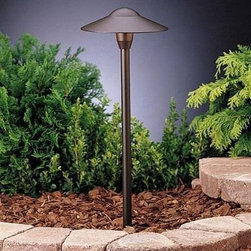 "Kichler Lighting 15310BKT Landscape Dome Path Spread Pathway Light - Get 10% discount on your first order. Coupon code: ""houzz"". Order today."
