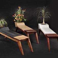 Modern Benches by Jory Brigham Design