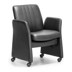 ZUO MODERN - Colonel Conference Chair Black - Colonel Conference Chair Black