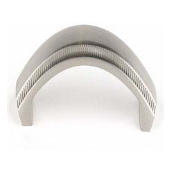 Alno Inc. - Alno Creations 3 1/2 Inch Pull Satin Nickel A240-35-Sn - Alno Creations 3 1/2 Inch Pull Satin Nickel A240-35-Sn
