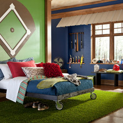 Turf Rug by American Rug Craftsmen - The artificial turf rug is a durable choice for your outdoor needs. This rug is ideal for patios, decks, boats and other outdoor applications. Or create a unique indoor space for your child room or sports themed man cave.