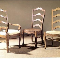 French Ladder-back Dining Chair - Made by http://www.ecustomfinishes.com