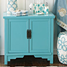 Tropical Bathroom Vanities And Sink Consoles Seafoam Cabinet