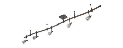 Unbranded - Unbranded Ozone 5-Light Oil-Rubbed Bronze Track Lighting Kit 12491-025 - Shop for Lighting & Fans at The Home Depot. Accent your decor with the Ozone 5-Light Oil-Rubbed Bronze Track Lighting Kit. This beautiful, adjustable lighting features an oil-rubbed bronze finish and frosted glass shades to suit your needs.