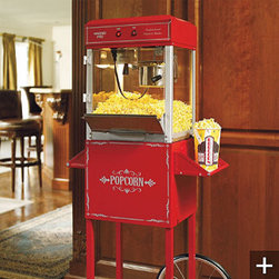 Professional Popcorn Maker - You know you have to have popcorn for mom when you watch your favorite movies.