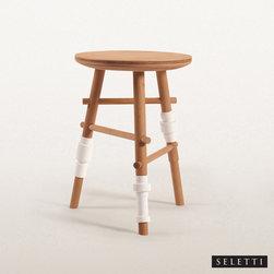 Seletti Turn Collection Stool - Seletti Turn Collection Stool