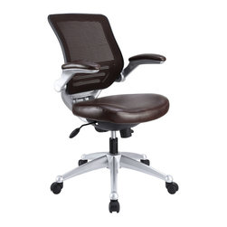 Edge Leather Office Chair - Welcome to a new era in functional comfort. The Edge office chair combines old time charm with cutting edge ergonomics to deliver one comprehensive seating experience. Every feature imaginable in a chair is available as soon as you sit down. This is a chair that you can conform to behave exactly how you need it. The Edge Office Chair - giving you the comfort you need when you need it most.