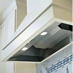 Vent-A-Hood 64.38W in. Wall Mounted Liner Insert - For the casual and professional cook alike, the Vent-A-Hood 64.38W in. Wall Mounted Liner Insert provides a powerful ventilation system that's appropriate for home and business kitchens. This set comes with a stainless steel frame that installs easily into your existing vent hood, wall-mounted for back and top vents. The unit supports round ducts between 8- and 12-inches and comes with a Magic Lung centrifugal filter that requires little to no maintenance and comes with a snap-apart design to simple cleaning. Double dual-blowers take care of any odors, smoke, or heat build-up in no time at all, powered by a nearly-noiseless motor with a 1200CFM rating. Select your preferred speed or rest easy knowing that the Sensasource feature will automatically detect fluxuations in temperature and automatically engage the highest setting when necessary. This makes the piece fire-safe, keeping flames contained and preventing the fire from spreading in case of an emergency. All the necessary switches are included. A set of long-lasting halogen lights are included.About Vent-A-Hood For over 75 years, Vent-A-Hood has provided American consumers with a series of simple, long-lasting kitchen products. Based in Richardson, TX, their kitchen hoods boast a unique, proprietary design that's both easy to install and fire-safe. Family-owned since its inception in Dallas, Vent-A-Hood guarantees that customer satisfaction and product performance are its focal points. The company has far outgrown its door-to-door sales days, the company has expanded to reach national and international markets, solid in all fifty states, Canada, and beyond.