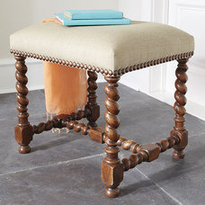 Traditional Footstools And Ottomans by Wisteria