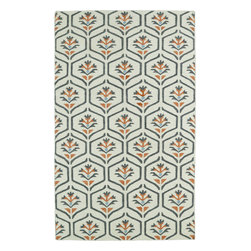 Kaleen - Kaleen Glam GLA08 (Coral) 8' x 10' Rug - This Flat Weave rug would make a great addition to any room in the house. The plush feel and durability of this rug will make it a must for your home. Free Shipping - Quick Delivery - Satisfaction Guaranteed