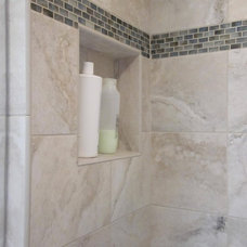Contemporary Bathroom by Cook & Kozlak Flooring Center, Inc.