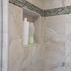 contemporary bathroom tile by Cook & Kozlak Flooring Center, Inc.