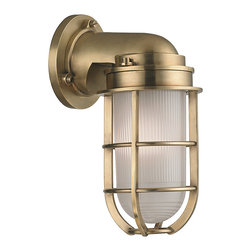 HUDSON VALLEY LIGHTING - Hudson Valley Lighting Carson-Wall Sconce Aged Brass - Free Shipping