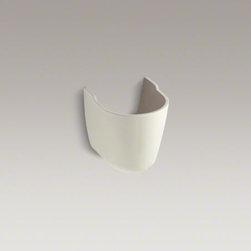 KOHLER - KOHLER Brenham(TM) shroud - Create an elegant, barrier-free solution for your bathroom with the Brenham shroud. Designed to fit Brenham wall-mount sinks, this shroud offers the function and durability required for a commercial bathroom.