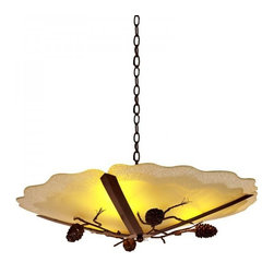 ParrotUncle - Glass Plate Rustic Iron Dining Room Pendant Lighting - Glass Plate Rustic Iron Dining Room Pendant Lighting