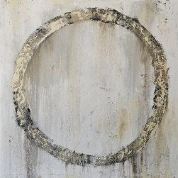 Loft Decor- Modern Abstract Painting - Modern Abstract Circle Wall Art