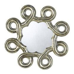 CAL Lighting - Cal Lighting Formia Hexagon Polyurethane Frame Mirror w/Beveled Glass - Formia Hexagon PU Beveled Mirror