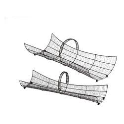 Cyan Design - Mumbai Trays - Mumbai trays - raw steel