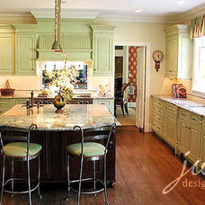 Eclectic Kitchen by JWH Design and Cabinetry LLC