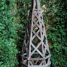 Traditional Garden Sculptures by Detroit Garden Works