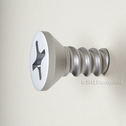 Antartidee - VITENDINO - Single Screw Wall Hook by Antartidee - A beautiful handcrafted Italian wall screw- I mean, hook! Made by Antartidee.