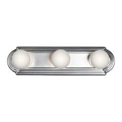 "Kichler - Kichler 5003CH Bath & Vanity 18"" Wide 3-Bulb Bathroom Lighting Fixture - Product Features:"