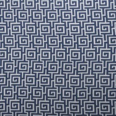 Blue and White Fabric by the Yard by greenapplefabrics on Etsy