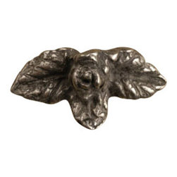 Anne at Home Hardware - Rose With Leaves  Knob, Antique Bronze - Made in the USA - Anne at Home customized cabinet hardware enables even the most discriminating homeowner to achieve the look of their dreams.  Because Anne at Home cabinet hardware is designed to meet your preferences, it may take up to 3-4 weeks to arrive at your door. But don't let that stop you - having customized Anne at Home cabinet knobs and pulls are well worth the wait!   - Available in many finishes.