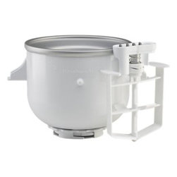 KitchenAid® Stand Mixer Ice Cream Maker Attachment - If you have a KitchenAid stand mixer, then you're so close to making ice cream. You just need one of these!