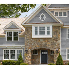 Create Curb Appeal—Exterior Home Color Ideas—Benjamin Moore Paint Color Schemes