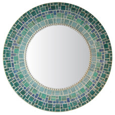 Mediterranean Wall Mirrors by Opus Mosaics