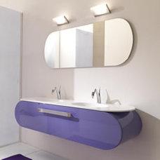 Contemporary Bathroom Cabinets And Shelves by lasaidea.com