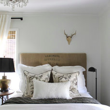 Contemporary Bedroom by sherry hart