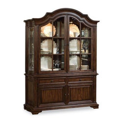 ART Furniture - Coronado China Cabinet - 72242-2612/72243-2612 - Refined rustic styling with Spanish and Old World inspiration