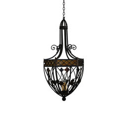 Mediterranean Pendant Lighting by Hacienda Lights and Iron