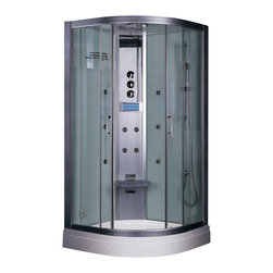Ariel Platinum - Ariel Platinum DZ934F3 Steam Shower 35.5x35.5x87.5 - These fully loaded steam showers include massage jets, ceiling & handheld showerheads, chromotherapy, aromatherapy and built in radios to help maximize the therapeutic experience.