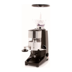 Quamar - Quamar M80 Timer Grinder in Black - Sporting an ETL certification and a lauded design as the spiritual successor of the Fiorenzato T80 Grinder, the Quamar M80 Timer Grinder in Silver is a commercial quality dosing grinder that excels at domestic use. With 60 stepped grind settings for minute adjustments, the M80 Timer is suited for whatever kind of drink you want to prepare.