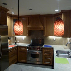 Contemporary Kitchen Lighting And Cabinet Lighting by Artisan Crafted Home