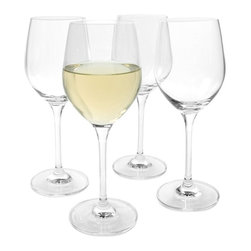 Artland - Artland Inc. Sommelier Blanc Wine Glasses- Set of 4 Multicolor - 10504B - Shop for Drinkware from Hayneedle.com! Showcasing the perfect shape to maximize the enjoyment of fine white wines the Artland Inc. Sommelier Blanc Wine Glasses- Set of 4 is a must-have for any formal or casual get-together. Crafted of high-quality hand-blown glass that's break-resistant this set's charming blend of delicacy and durability also make it a staple for any wine aficionado. Dishwasher-safe.